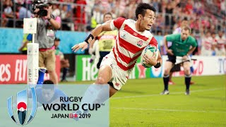 Rugby World Cup 2019: Japan vs. Samoa   EXTENDED HIGHLIGHTS   10/05/19   NBC Sports