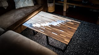 Getting Over My Fear Of Epoxy Resins - The Pixelated Coffee Table with EcoPoxy FlowCast