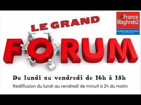 France Maghreb 2 - Le Grand Forum le 12/03/18 : Hanan Zahouani, Nadia Hathroubi et Adama Traoré