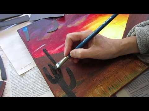 ClassPlan - desert remake acrylic asmr