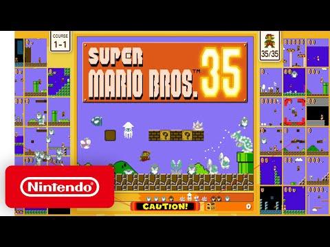Super Mario Bros. 35 - Announcement Trailer - Nintendo Switch
