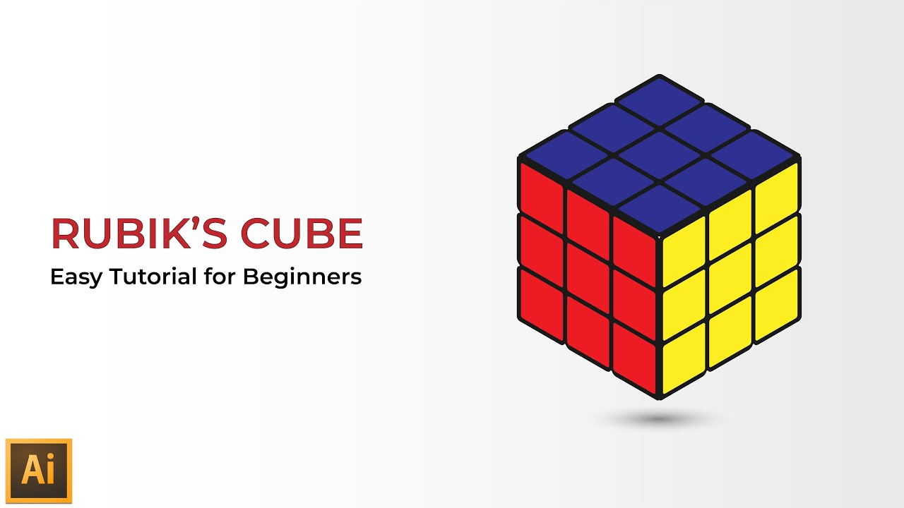 how to make perfect cube illustrator