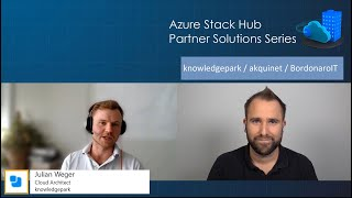 Azure Stack Hub Partner Solutions Series – Knowledge Park