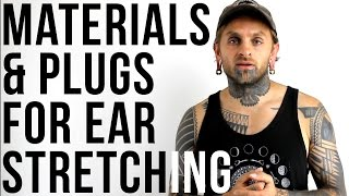 Good Materials & Plugs For Ear Stretching | UrbanBodyJewelry.com