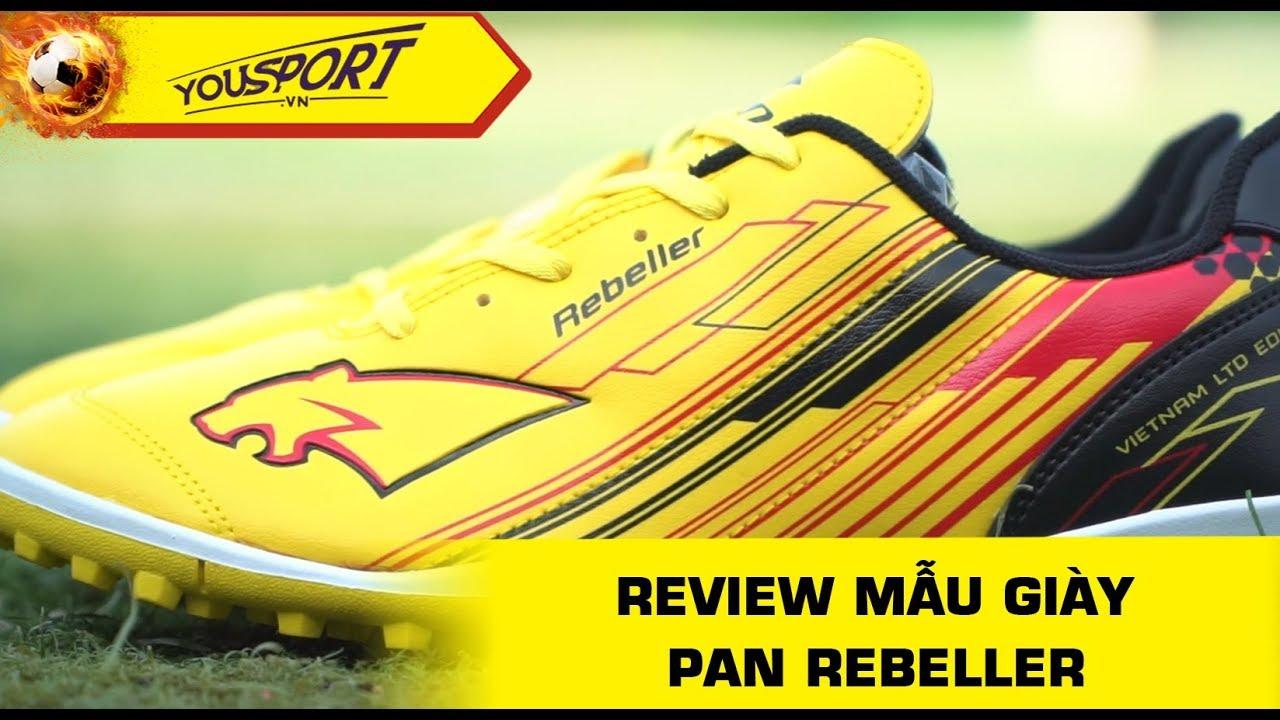 Đánh giá chi tiết mẫu giày bóng đá Pan Rebeller TF