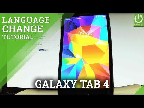 Download Change Language In Samsung Galaxy Tab 4 Language Settings