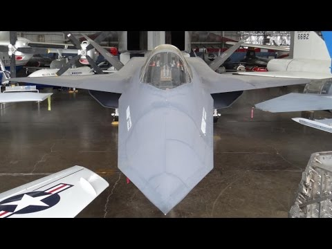 YF-23 Walk Around