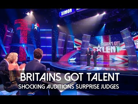 Shocking Auditions Surprise Judges Britain's Got Talent