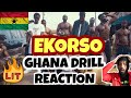 Gambar cover 🇬🇭 Kofi Jamar ft. Yaw TOG & Ypee - Ekorso | Ghana Drill/Rap Reaction |