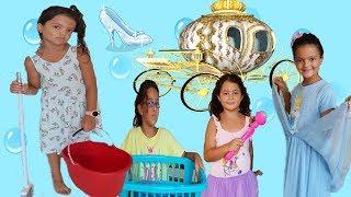 Masal Sindirella Oluyor! Masal as Cinderella Story for kids