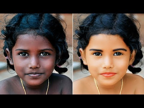How To Change Skin Color Photoshop Skin Retouching| Photoshop Tutorials