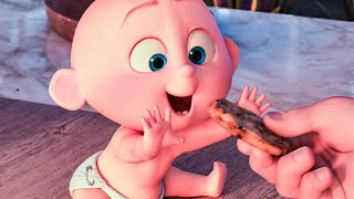 INCREDIBLES 2 'Jack Jack Wants A Cookie' Movie Clip (2018)