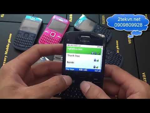 hướng dẫn sử dụng điện thoại nokia c3-00 zin giá rẻ