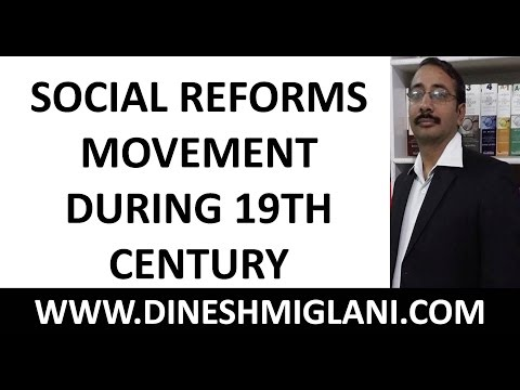 SOCIAL REFORMS MOVEMENT DURING 19TH CENTURY BY DINESH SIR