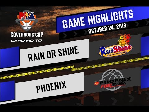 PBA GOVERNORS' CUP 2018 Highlights: ROS VS PHOENIX OCT 24, 2018