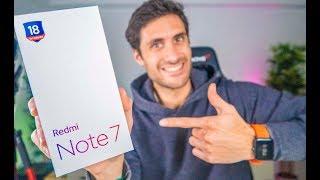 Xiaomi Redmi Note 7 - Unboxing