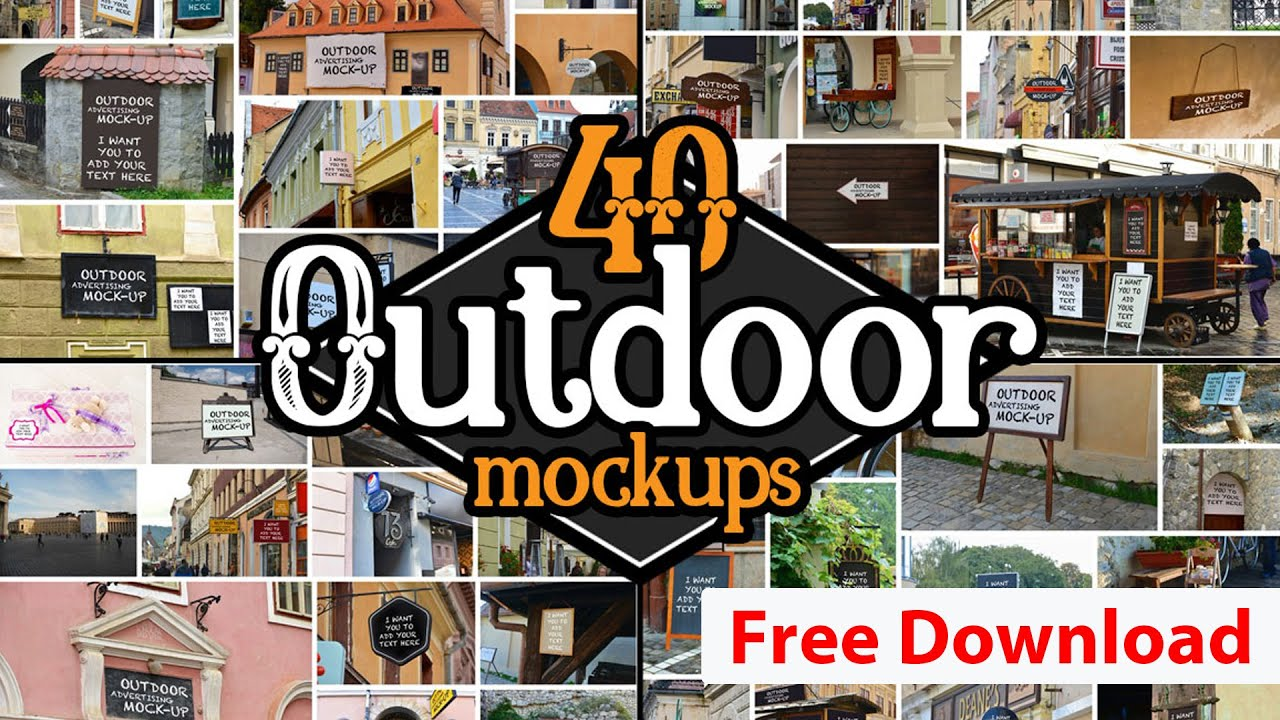 Download Free Photoshop Mockups and Tutorial how to use Photoshop ... Free Mockups