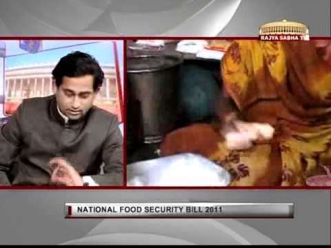 Law of the Land - National Food Security Bill, 2011