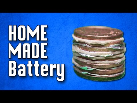 how to build a homemade battery