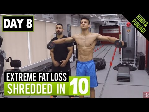 ARMY STYLE WORKOUT for FAT LOSS! DAY-8 (Hindi / Punjabi)