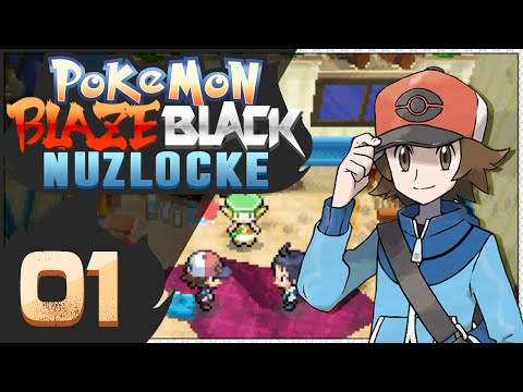 Pokémon Blaze Black Nuzlocke - Episode 1   The Comeback Kid!