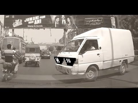 Bad Drivers of Pakistan Compilation #2 - featuring Thug Life.