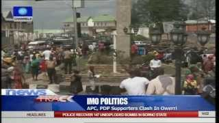 APC/PDP Supporters Clash In Oweri