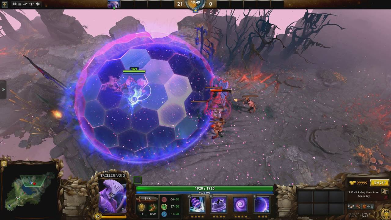 Faceless Void: Mace Of Aeons