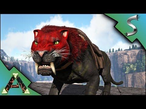 AMAZING SABERTOOTH MUTATION! SABER BREEDING AND DOEDIC TAMING! - Ark: RAGNAROK [DLC Gameplay E37]