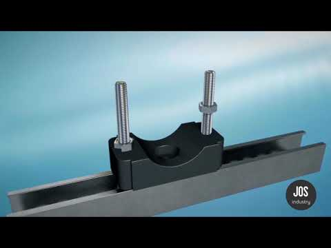 Jos Industry - Installation Guide - Center Hole with Bolts