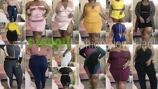 $1500 Try-On Haul!!! WTF.   Fashion Nova Curve / Plus Size   Daquana White