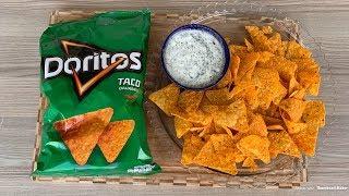 EVDE DORİTOS TARİFİ!!!  Doritos Chips Recipe
