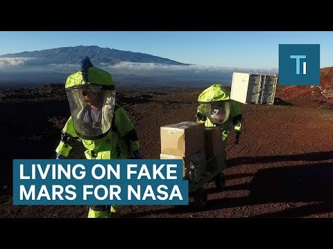 NASA Got People To Live On A Fake Mars For 8 Months