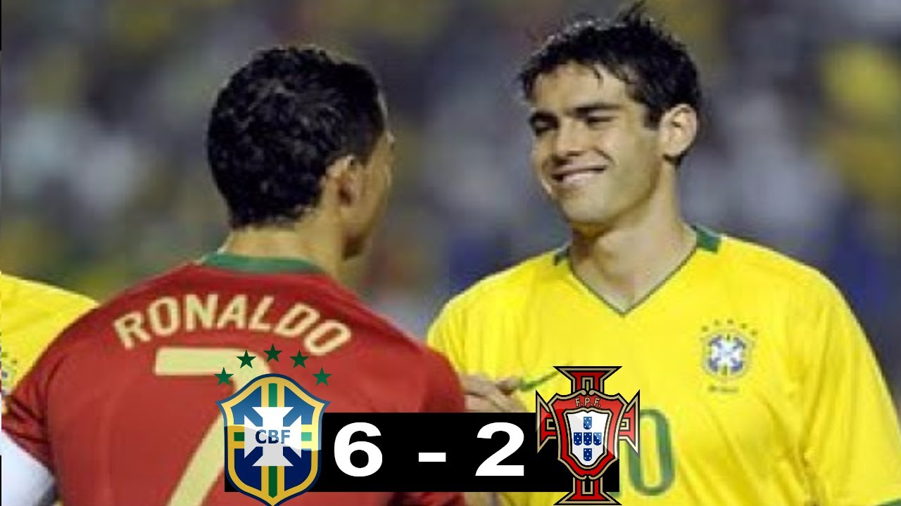 brazil vs portugal 6 2 all goals highlights friendly