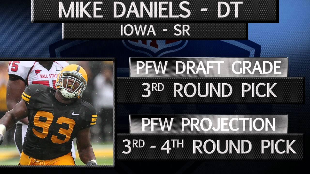 Iowa DT Mike Daniels Draft Profile