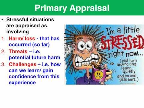 Lazarus Folkman Transactional Model Of Stress Coping