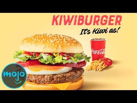 Another Top 10 Exclusive McDonald's International Menu Items