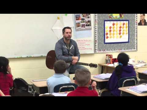 "Brandon Heath- Surprise Entrance to my Classroom and ""When I was Young"""