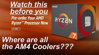watch this before you pre order ryzen am4 coolers one x370 board compatible with am3
