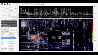 sdr radio тест на 40метрах девушка радиолюбитель, на частоте(Подпишись! Заказать сей дивайс для прослушевания радиоэфира. SDR приемник, радио RTL2832U R820т2 от 1.6 мГц до -..., 2016-03-19T16:14:15.000Z)