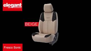 Fresco Sonic Car Seat Covers | Designer Seat Covers for Car | Fabric Seat Cover