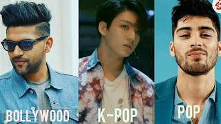 MOST HANDSOME FACES OF K-POP-POP&BOLLYWOOD 2018