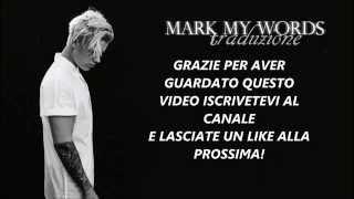 Justin bieber  - Mark my words (Traduzione)