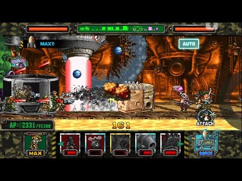 Metal slug ATTACK. ONLINE!  Earth shaker  Deck!!! (2.15.0 ver)