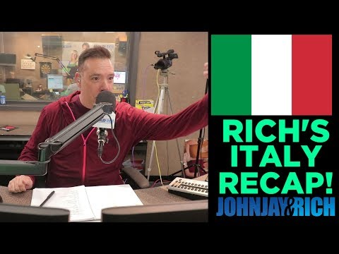 In-Studio Videos - Rich FINALLY Went to Italy!!