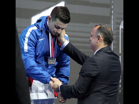 Ali Sofuoğlu (TUR) - Damian Quintero (ESP) - Final - Kata - Euro Karate 2018 - Sırbistan
