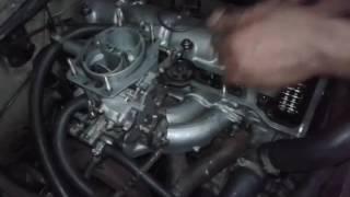 Тросик  газа на #Ваз классике #карбюратор #Solex