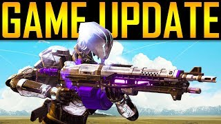 Destiny 2 - BIG GAME UPDATE! Betrayal Glitch! Exotic Info!