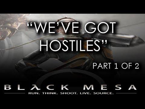Black Mesa Source - Chapter 05 (Part 1 of 2) - We've Got Hostiles (Gameplay Walkthrough)
