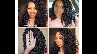 how to l natural hair wash n go l define curly hair